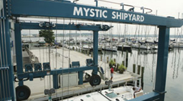 Electronic Service at Mystic Shipyard