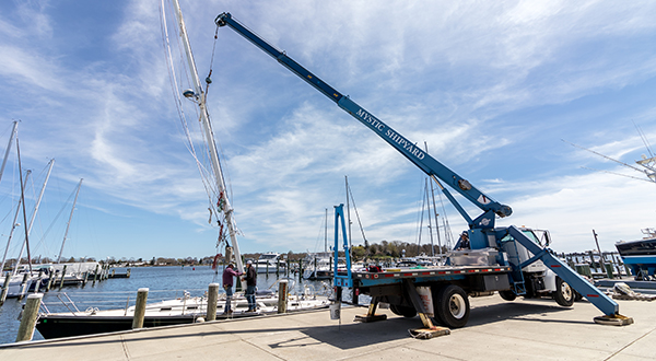 Rigging Service at Mystic Shipyard